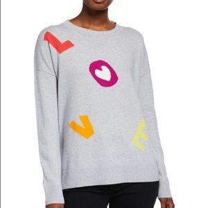 NWT Lisa Todd Love Pullover Shirt